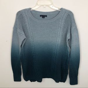 American Eagle Ombré Sweater Size Small